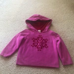 Girls 3T Hanna Andersson Hooded Sweater